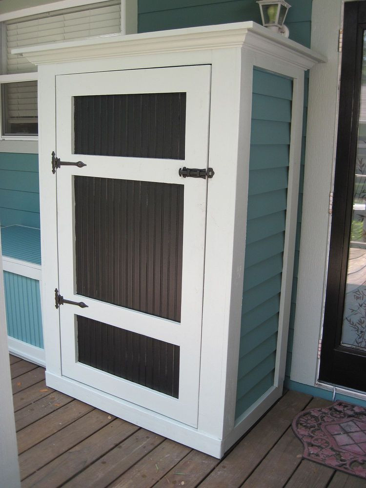 Best ideas about Small Outdoor Storage Cabinet . Save or Pin Small Outdoor Storage Now.