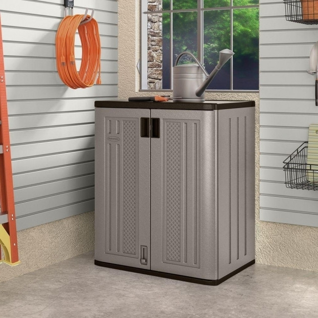 Best ideas about Small Outdoor Storage Cabinet . Save or Pin Small Outdoor Storage Cabinet Storage Designs Now.