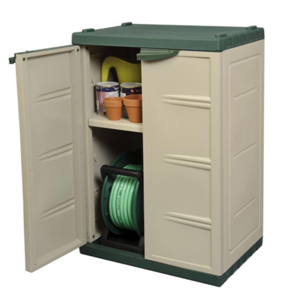 Best ideas about Small Outdoor Storage Cabinet . Save or Pin Shed building plans and material list small outdoor Now.