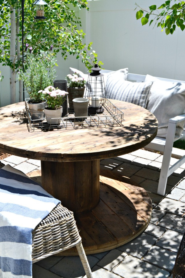 Best ideas about Small Patio Tables . Save or Pin Small Patio A Bud Now.
