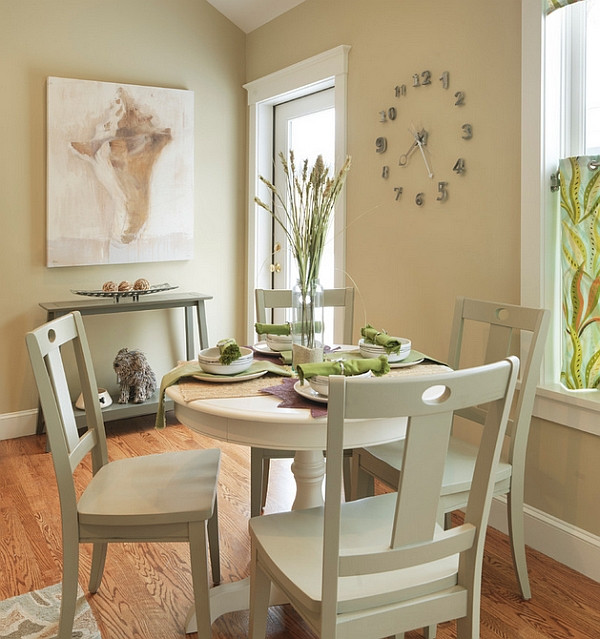 Best ideas about Small Round Dining Table . Save or Pin Small Dining Rooms That Save Up Space Now.