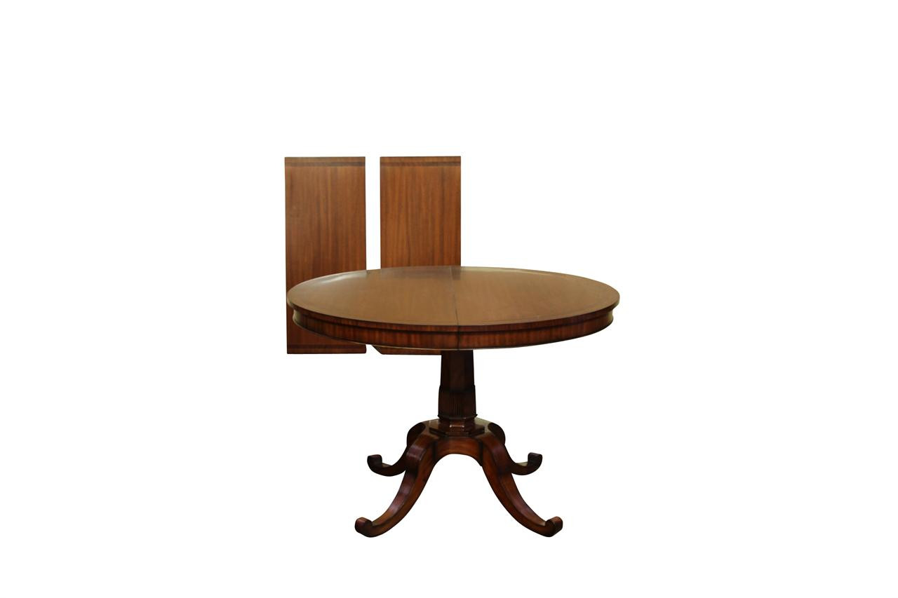 Best ideas about Small Round Dining Table . Save or Pin Small Round Dining Table with Leaves from 44 inch to 80 inch Now.