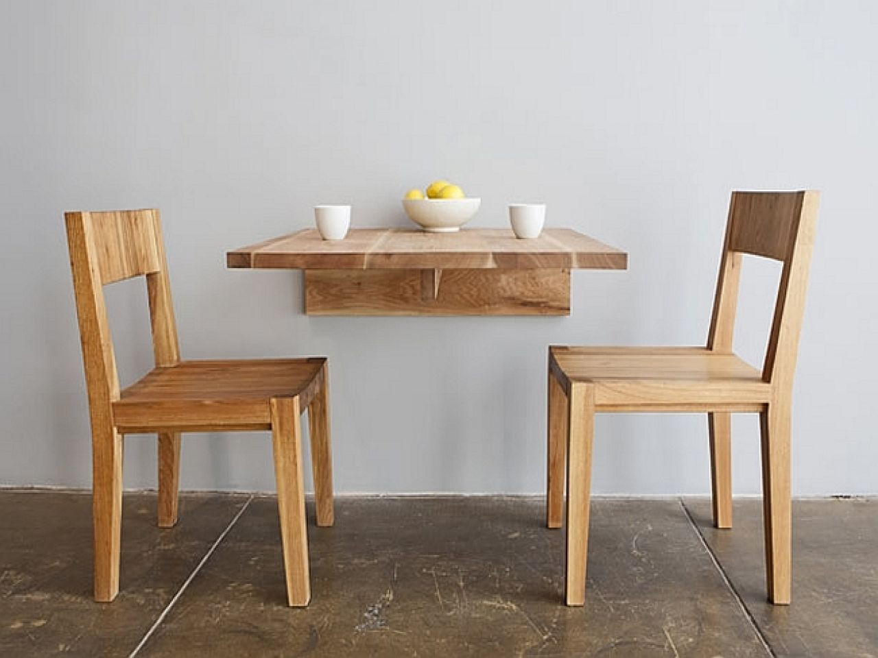 Best ideas about Small Space Dining Table . Save or Pin Wall Fold Away Dining Tables for Small Spaces Now.
