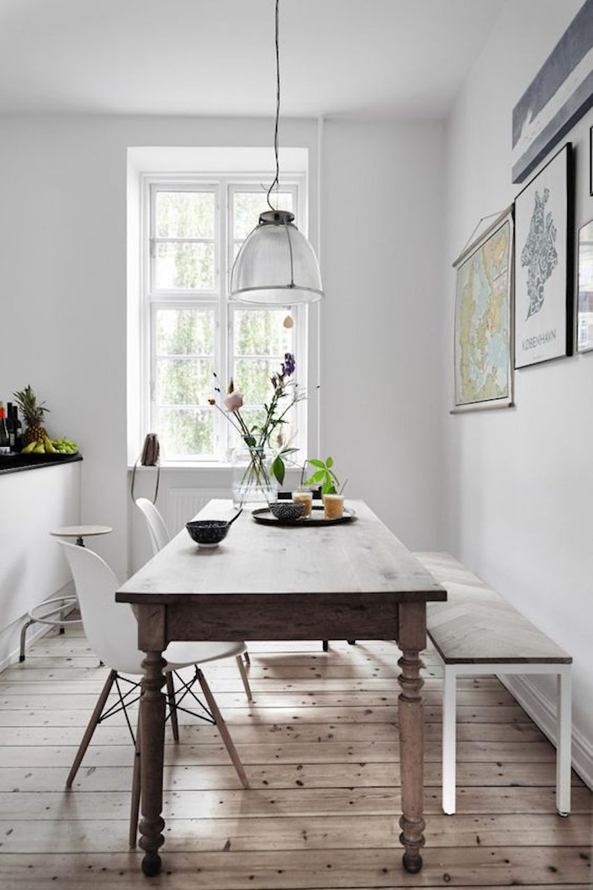 Best ideas about Small Space Dining Table . Save or Pin 10 narrow dining tables for a small dining room Now.