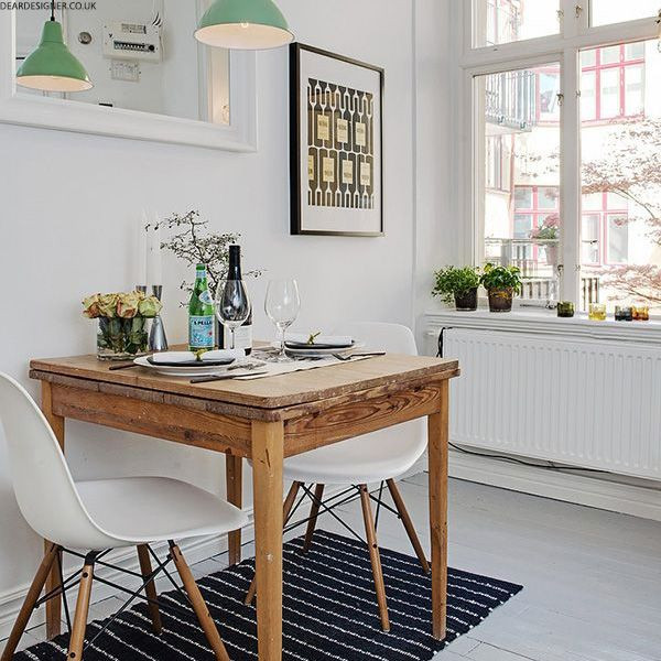 Best ideas about Small Space Dining Table . Save or Pin Best 25 Small dining ideas on Pinterest Now.