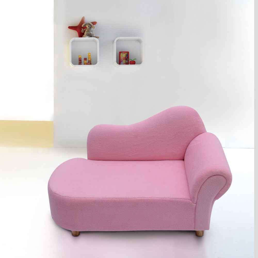 Best ideas about Sofa Beds For Kids . Save or Pin Children Kids Velvet Chaise Lounger Sofa Day Bed Bedroom Now.
