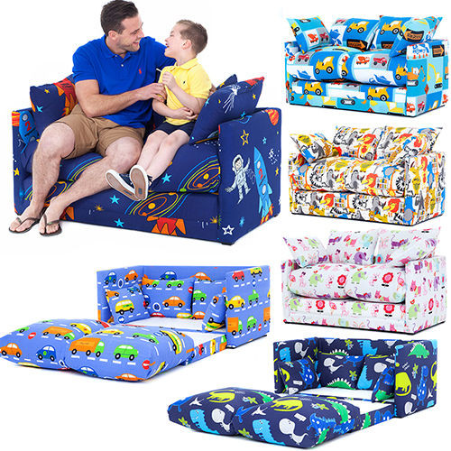 Best ideas about Sofa Beds For Kids . Save or Pin Children s Prints Bedroom Sofa Bed Fold Out Boys Girls Now.