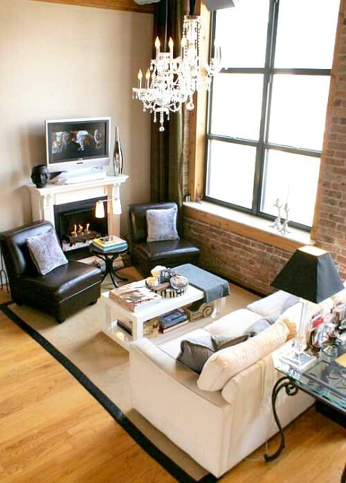 Best ideas about Sofa Set Designs For Small Living Room . Save or Pin Ideas For Small Living Room Furniture Arrangements · Cozy Now.