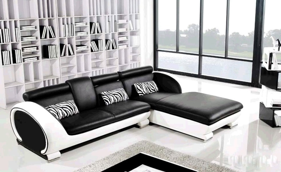 Best ideas about Sofa Set Designs For Small Living Room . Save or Pin Aliexpress Buy Modern Sofa Design Small L Shaped Now.