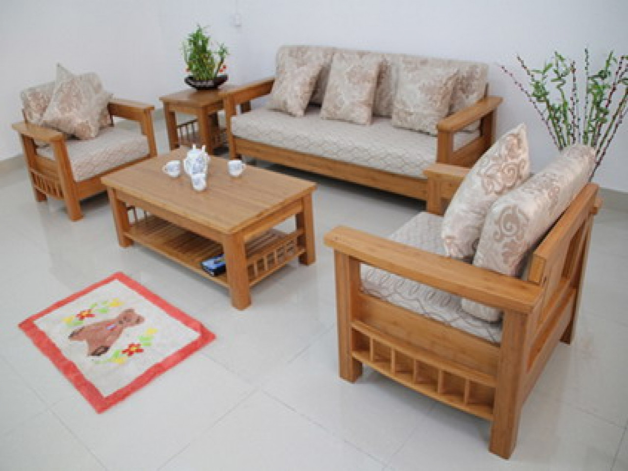 Best ideas about Sofa Set Designs For Small Living Room . Save or Pin American made dining room furniture wooden sofa sets Now.