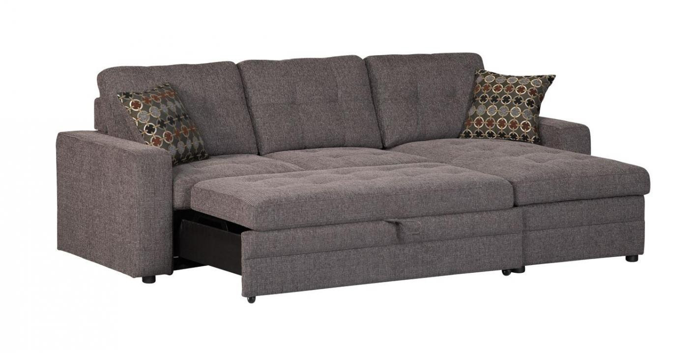 Best ideas about Sofa Sleeper Sectional . Save or Pin Black Fabric Sectional Sleeper Sofa Steal A Sofa Now.