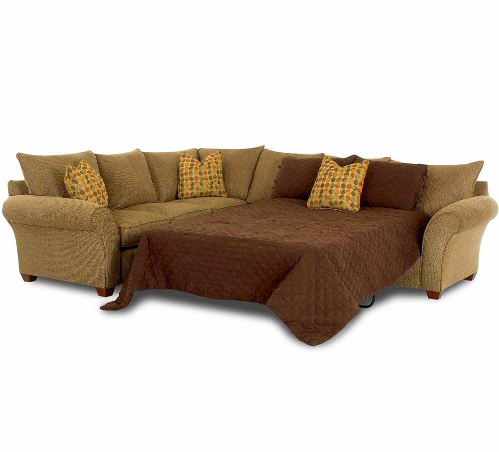 Best ideas about Sofa Sleeper Sectional . Save or Pin Sofa Sleeper Spacious Sectional by Klaussner Now.