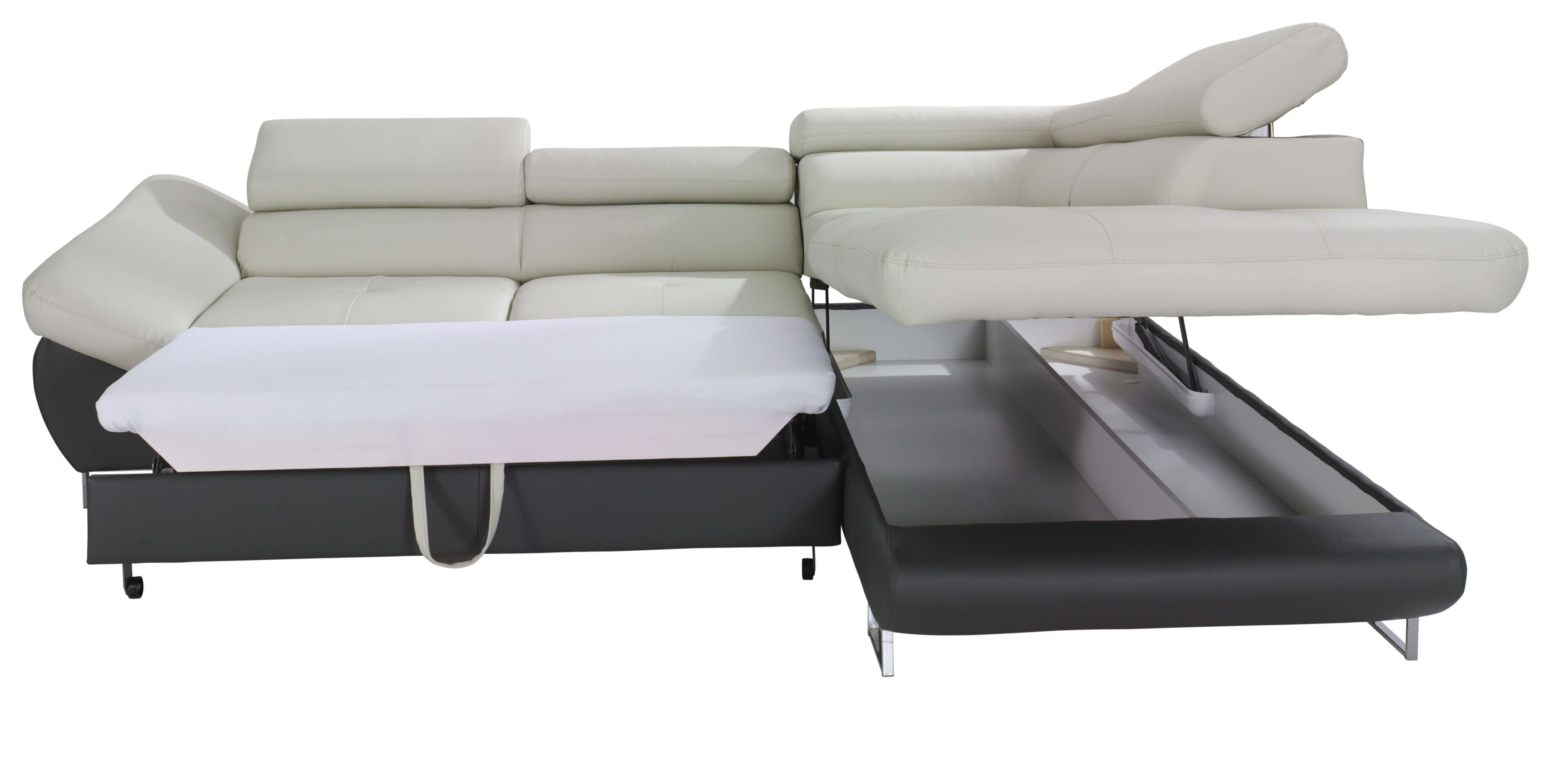 Best ideas about Sofa Sleeper Sectional . Save or Pin Fabio Sectional Sofa Sleeper with Storage Now.
