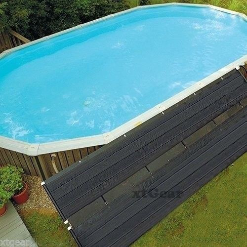 "Best ideas about Solar Heater For Inground Pool . Save or Pin 28""x16 5 Solar Energy Swimming Pool Sun Heater Panel for Now."