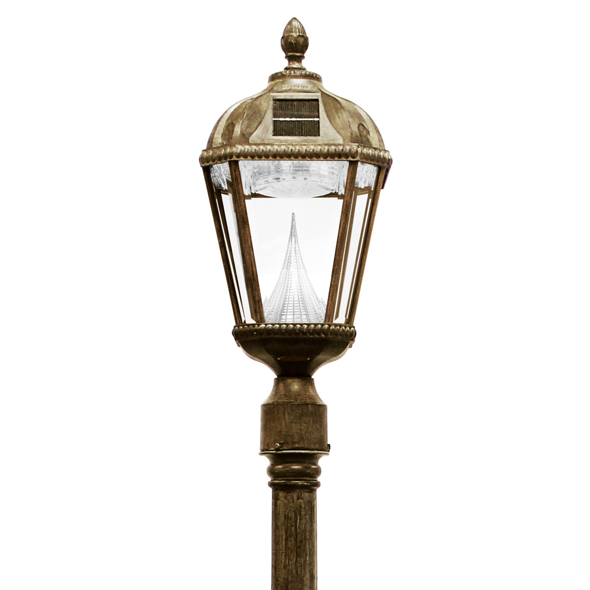 Best ideas about Solar Lamp Post Lights . Save or Pin Royal Solar Lamp Series – Lamp Post GS 98S Gamasonic Now.