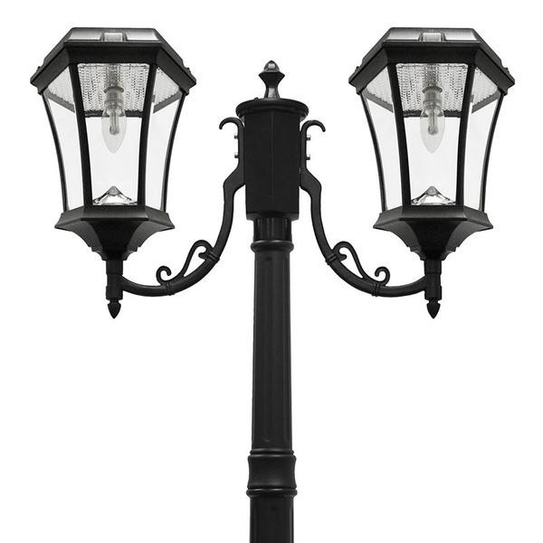 Best ideas about Solar Lamp Post Lights . Save or Pin Victorian Bulb Solar Lamp Post Double Now.