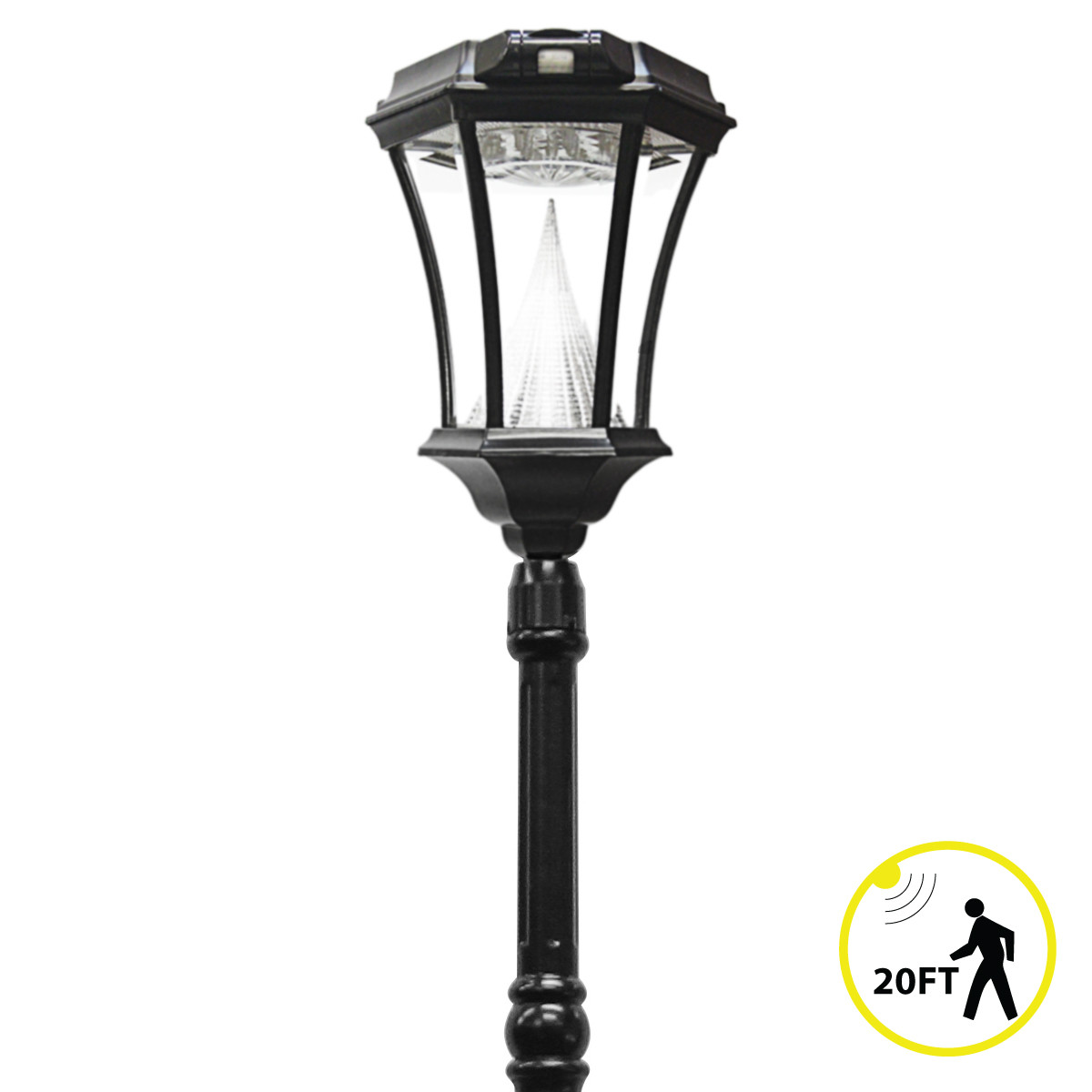 Best ideas about Solar Lamp Post Lights . Save or Pin Victorian PIR Series – Solar Lamp Post With Motion Sensor Now.