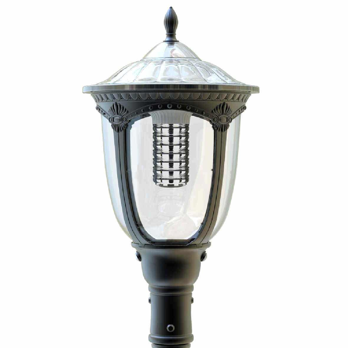 Best ideas about Solar Lamp Post Lights . Save or Pin Image of BlackFrog Solar s Royal2000 solar lamp post Now.