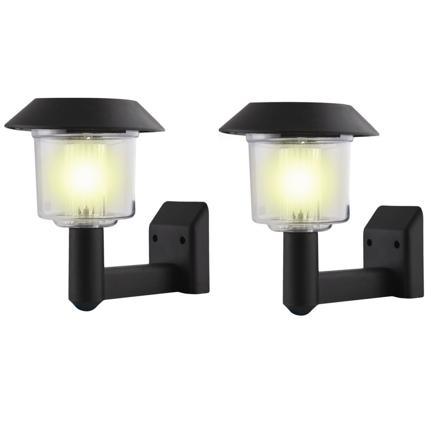 Best ideas about Solar Powered Patio Lighting . Save or Pin 2 x Solar Power Wall Light Fence LED Outdoor Lighting Now.