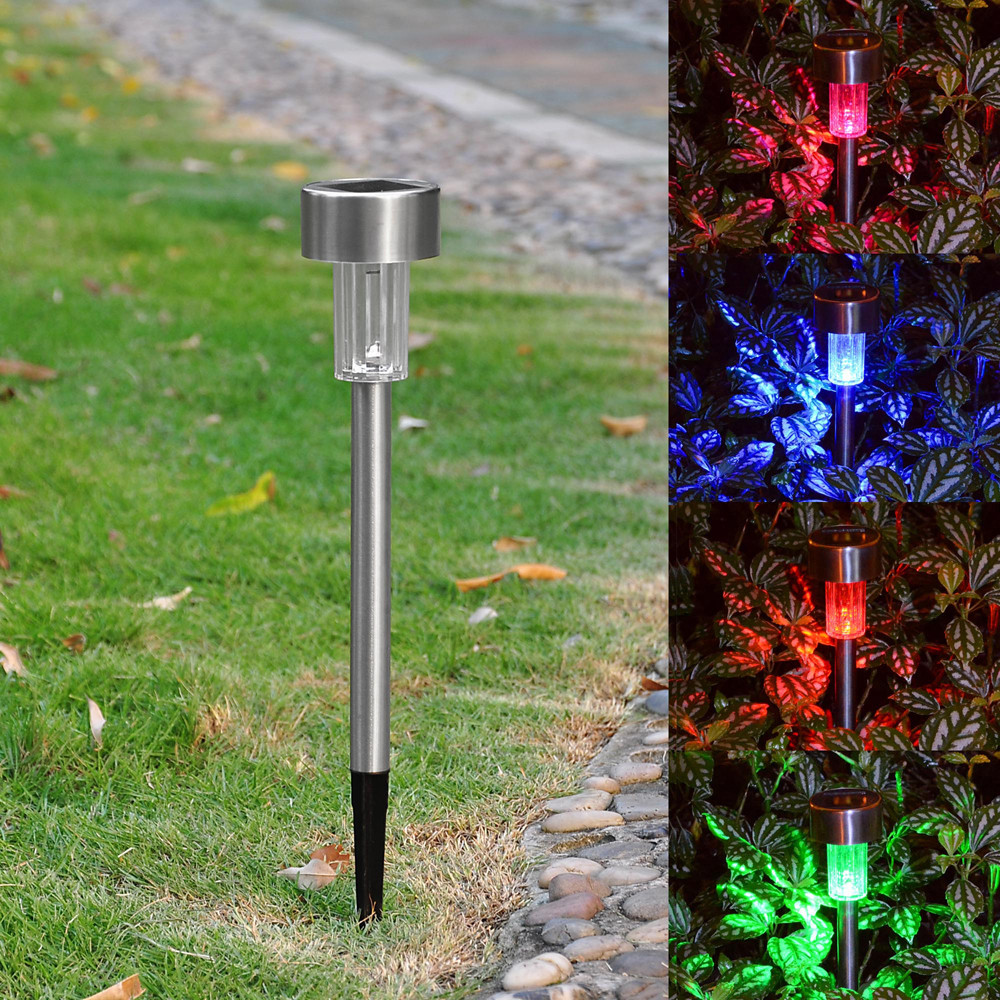 Best ideas about Solar Powered Patio Lighting . Save or Pin 6 Pack Outdoor Stainless Steel LED Solar Power Light Now.