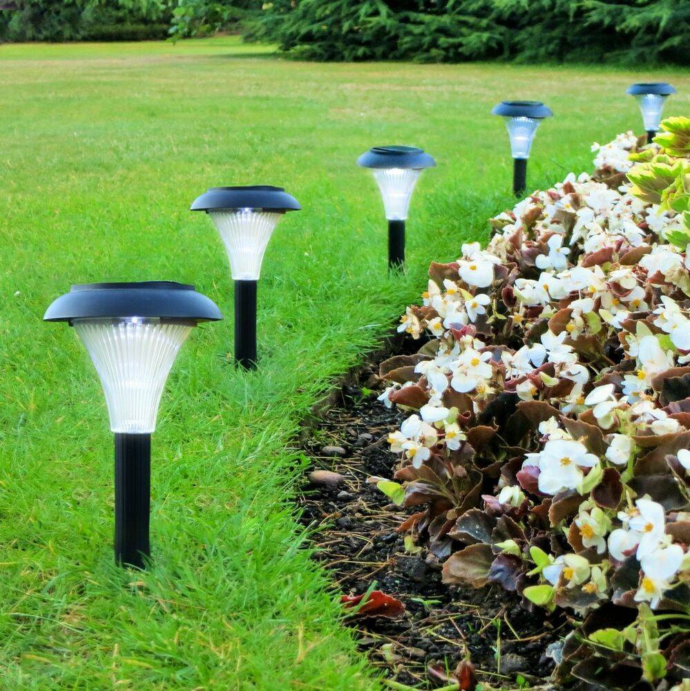Best ideas about Solar Powered Patio Lighting . Save or Pin Solar LED Outdoor Light Set 10 Garden Lighting Path Now.