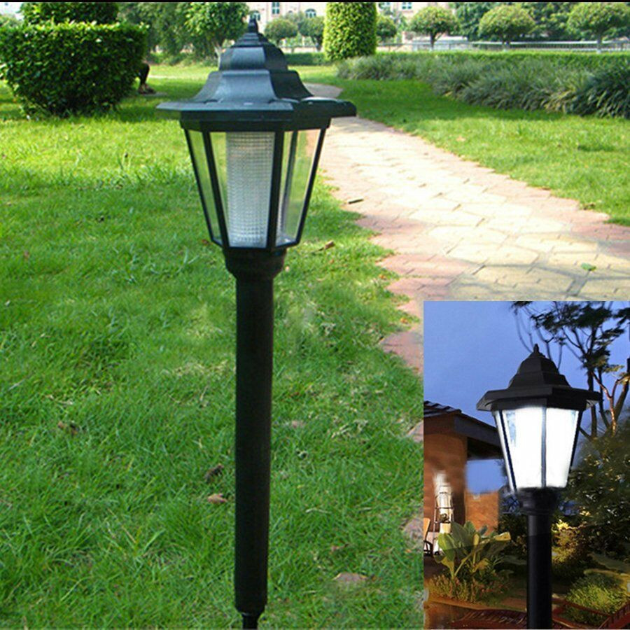 Best ideas about Solar Powered Patio Lighting . Save or Pin LED Solar Power Light Sensor Garden Security Lamp Now.