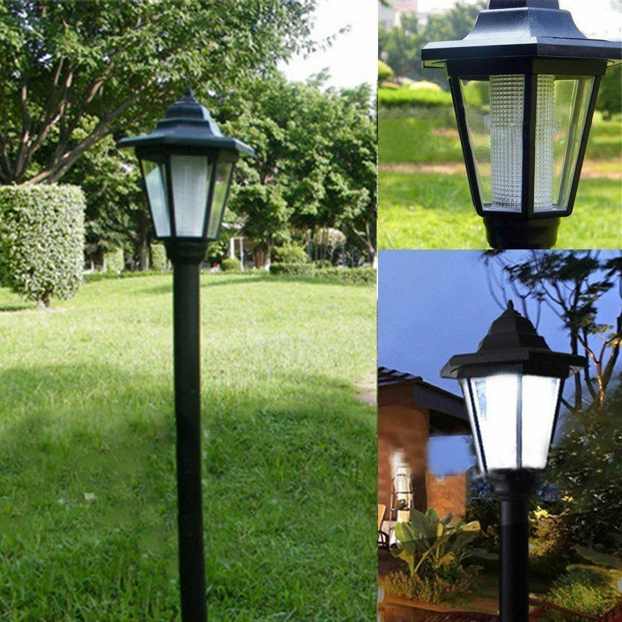 Best ideas about Solar Powered Patio Lighting . Save or Pin Auto Outdoor Garden LED Solar Power Path Cited Lights Now.