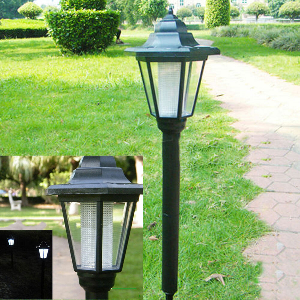 Best ideas about Solar Powered Patio Lighting . Save or Pin Outdoor Garden LED Solar Powered Light Path Yard Landscape Now.