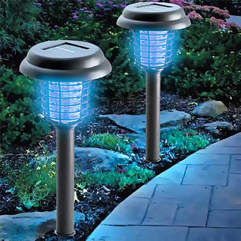 Best ideas about Solar Powered Patio Lighting . Save or Pin Solar Powered Garden Insect Killer Lamp Now.