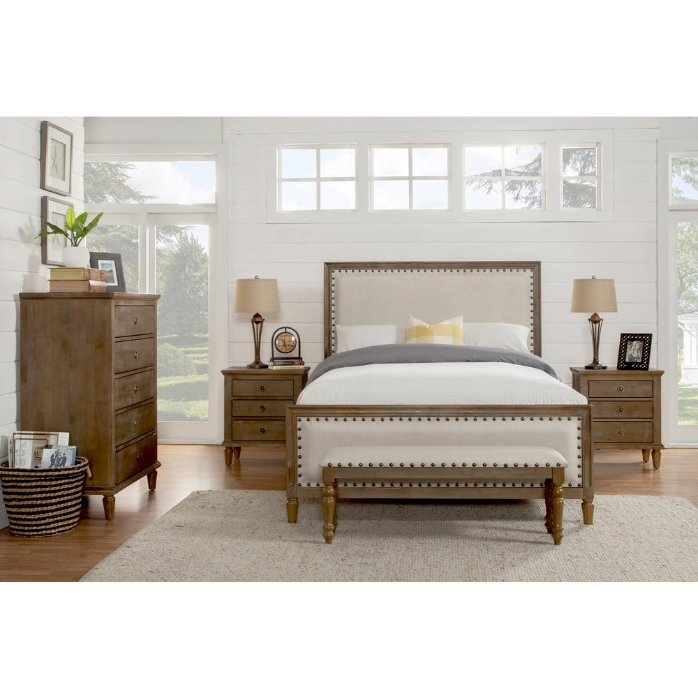 Best ideas about Solid Wood Bedroom Sets . Save or Pin LuXeo Cambridge 5 Piece King Bedroom Set with Solid Wood Now.