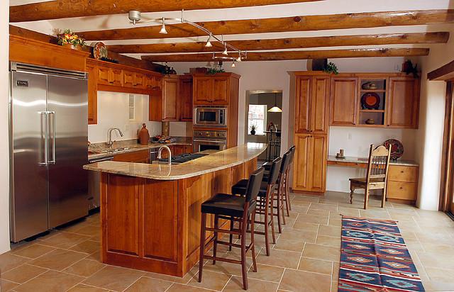 Best ideas about Southwest Kitchen Decor . Save or Pin Custom Built Southwestern Home Southwestern Kitchen Now.