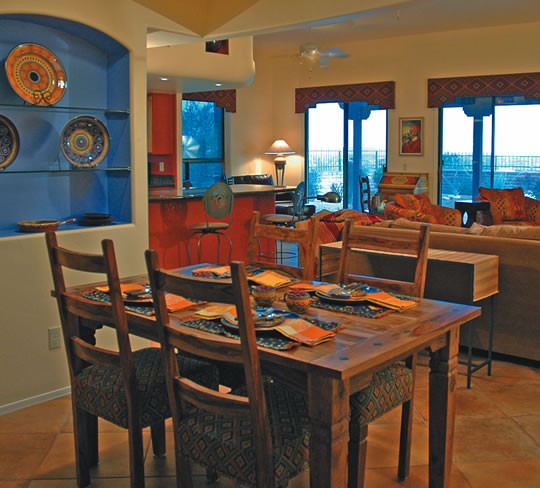 Best ideas about Southwest Kitchen Decor . Save or Pin Southwest Style Home Traces of Spanish Colonial & Native Now.