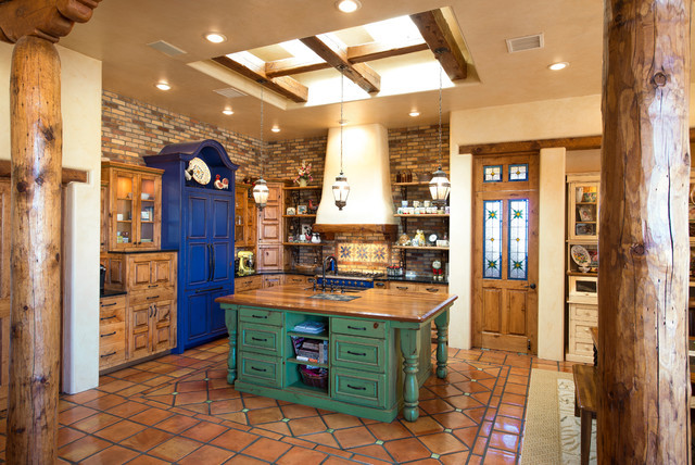 Best ideas about Southwest Kitchen Decor . Save or Pin 17 Warm Southwestern Style Kitchen Interiors You re Going Now.