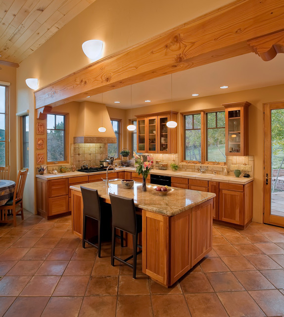 Best ideas about Southwest Kitchen Decor . Save or Pin Modern Southwest Style Home Southwestern Kitchen Now.