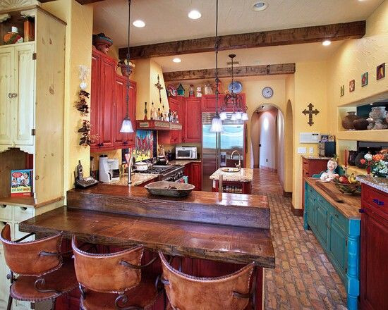 Best ideas about Southwest Kitchen Decor . Save or Pin Southwest kitchen Colors and The o jays on Pinterest Now.