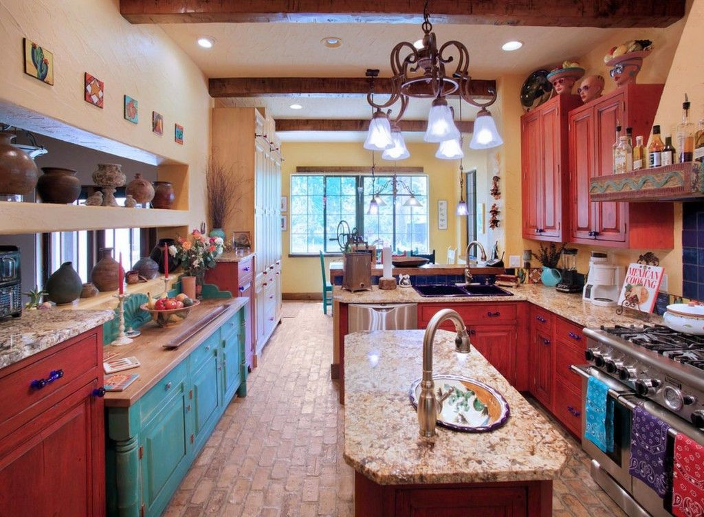 Best ideas about Southwest Kitchen Decor . Save or Pin Southwestern Kitchen Design an Explanation of the 6 most Now.