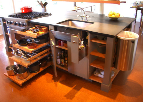 Best ideas about Space Saving Kitchen Ideas . Save or Pin 10 Big Space Saving Ideas for Small Kitchens Now.
