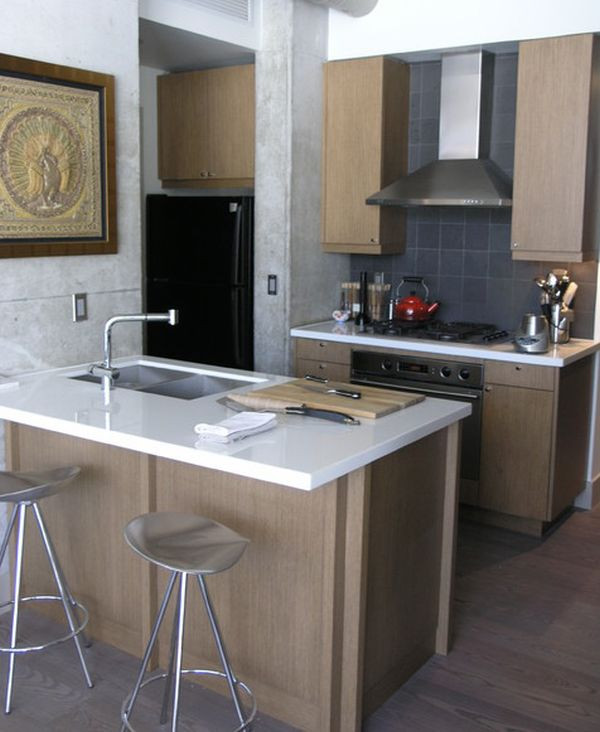 Best ideas about Space Saving Kitchen Ideas . Save or Pin 27 Space Saving Design Ideas For Small Kitchens Now.