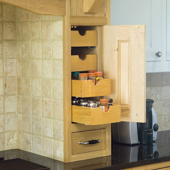 Best ideas about Space Saving Kitchen Ideas . Save or Pin Space saving kitchen storage Kitchen design Now.
