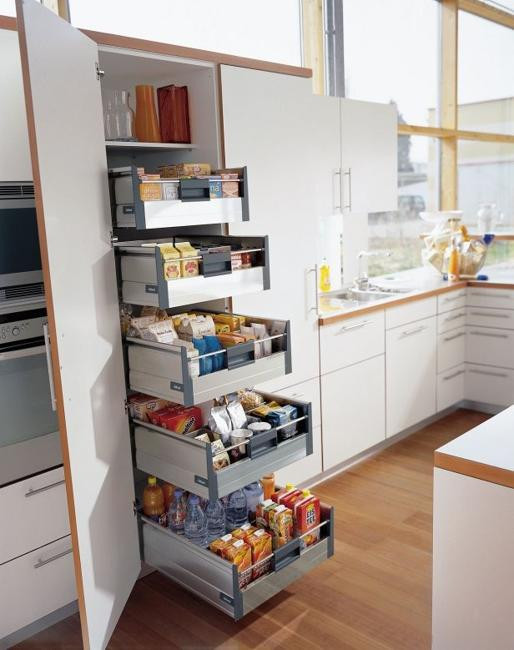 Best ideas about Space Saving Kitchen Ideas . Save or Pin Ways to Open Small Kitchens Space Saving Ideas from IKEA Now.