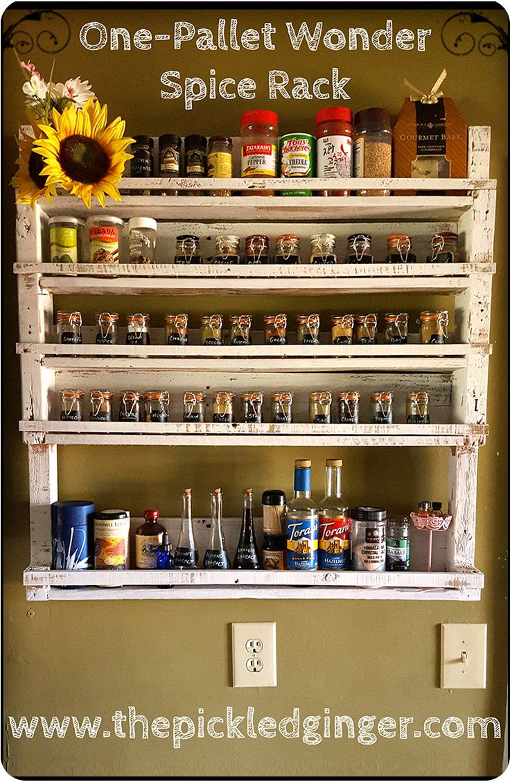Best ideas about Spice Racks DIY . Save or Pin 486 best Kitchen Spice Storage images on Pinterest Now.
