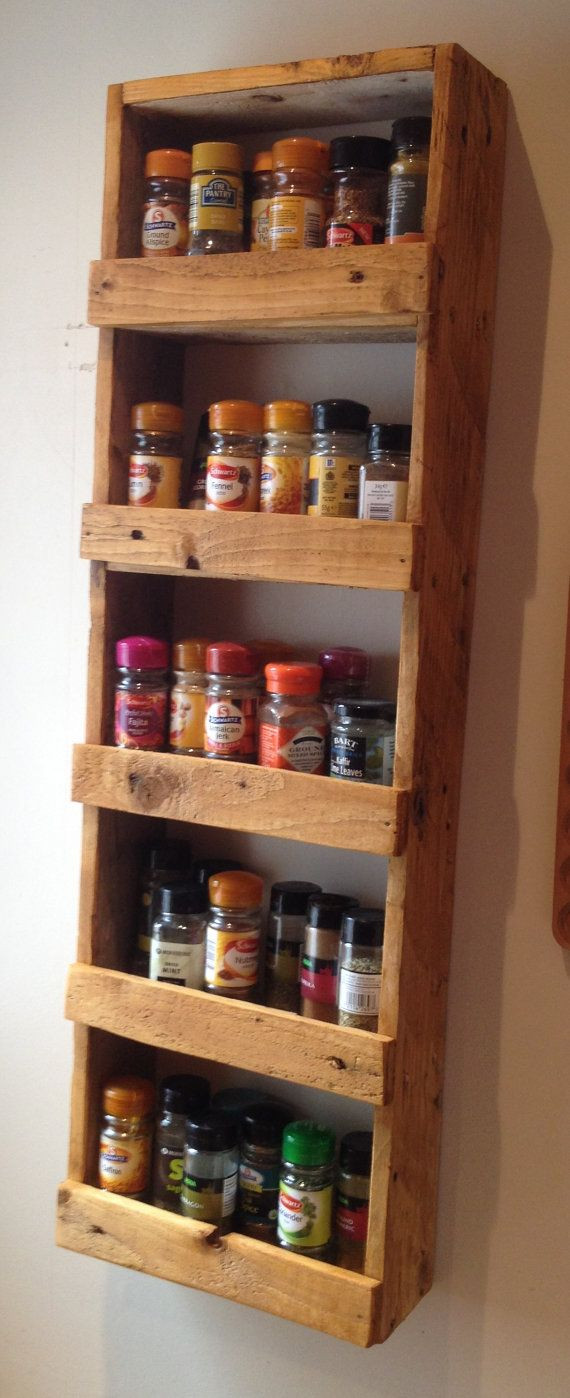 Best ideas about Spice Racks DIY . Save or Pin Best 25 Pallet spice rack ideas on Pinterest Now.