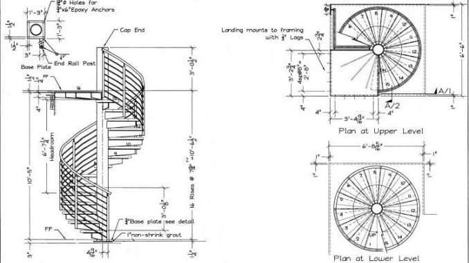Best ideas about Spiral Staircase Dimensions . Save or Pin How to Calculate Spiral Staircase Dimensions and Designs Now.