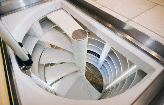 Best ideas about Spiral Wine Cellar . Save or Pin Spiral Stair Wine Cellar UK Contemporary Wine Cellar Now.