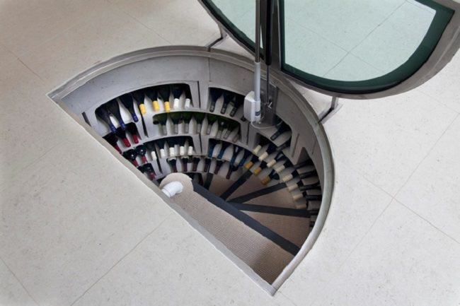 Best ideas about Spiral Wine Cellar . Save or Pin Every House Should Have A Set Stairs That Lead To This Now.