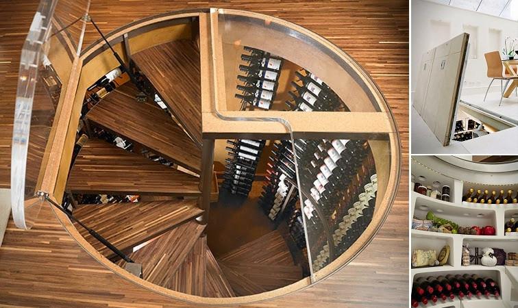 Best ideas about Spiral Wine Cellar . Save or Pin Spiral Wine Cellar Storage iCreatived Now.