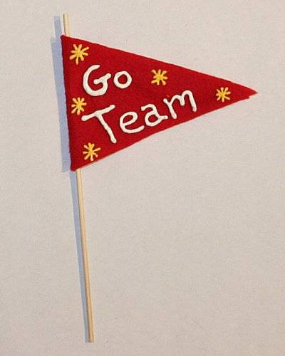 Best ideas about Sports Crafts For Kids . Save or Pin Sports Pennant Art Craft for Kids Now.