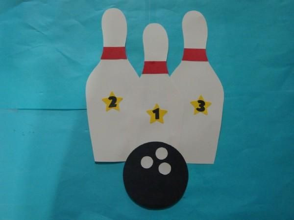 Best ideas about Sports Crafts For Kids . Save or Pin Bowling Pins 25 in Sports Crafts by Crafts For Kids Now.