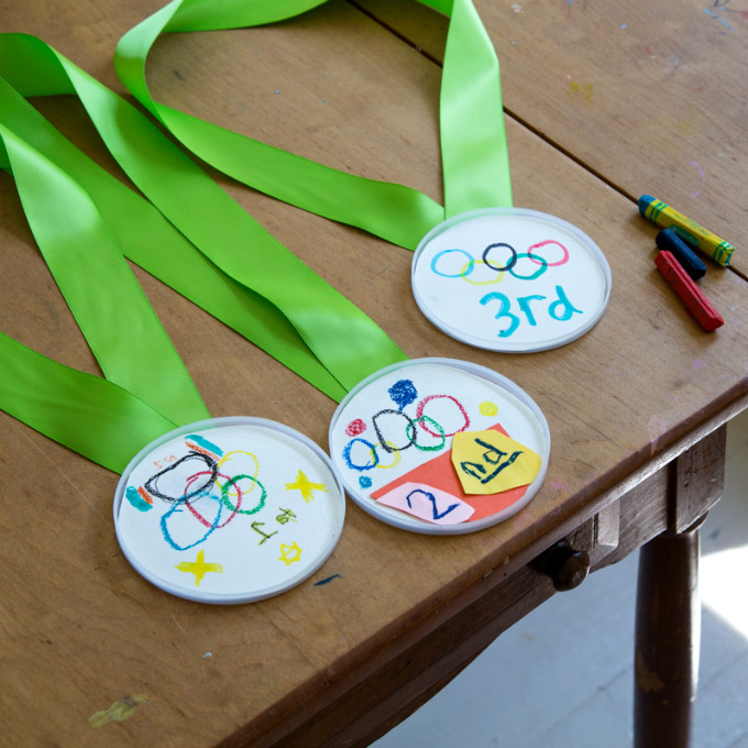 Best ideas about Sports Crafts For Kids . Save or Pin DIY Olympic Medals for Kids & a Simple Olympic Games Poster Now.