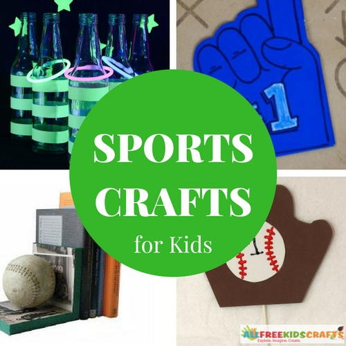 Best ideas about Sports Crafts For Kids . Save or Pin 23 Sports Crafts for Kids Homemade Games and Other Sports Now.